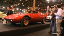 Rétromobile 2014 - Lancia, ses concepts de pointe, ses modèles d'exception