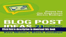 PDF The Blog Post Writing Formula: How to write a compelling