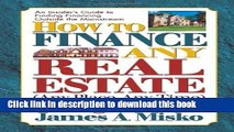[PDF]  How to Finance Any Real Estate, Any Place, Any Time: Strategies That Work (Squareone