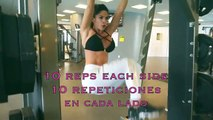MICHELLE LEWIN Workout   Get ABS ready NOW for Beach 2016!