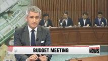 Party representatives, finance minister discuss budget supplement