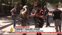 Turkey rounds up thousands after failed coup