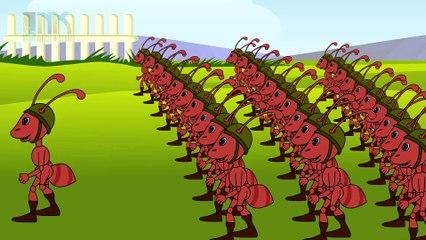 The Army Ants | Nursery Rhymes | Children Songs | English Nursery Rhymes