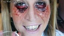 Maquillage Effets Spéciaux : Oeil/Joue Epinglé sur Sabrina Perquis