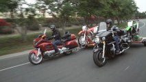 Bikes Towing Bikes! Honda Gold Wing and CRF250X vs. Kawasaki Vulcan Voyager and KX250F | ON TWO WHEELS