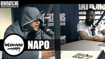 Napo - Interview (Live des studios de Generations)