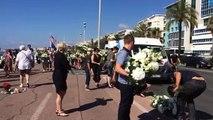 À Nice, quatre jours après l'attentat, la Promenade se fleurit