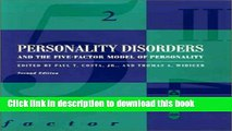 Read Personality Disorders and the Five-Factor Model of Personality  Ebook Free