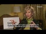Jane Fonda estreia como protagonista da série 'Grace and Frankie'