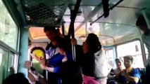 Honour Torture in Indian Bus - Since Girls Beating Boys, neither action nor voice against girls