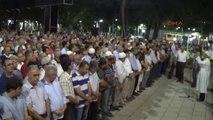İslahiye'de Darbe Şehitlerinin Gıyabi Cenaze Namazı Kılındı