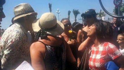 Nice:après le recueillement, altercation raciste sur la promenade des Anglais