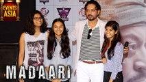 Madari Movie 2016 Song Launch | Irfan Khan, Jimmy Shergill | Events Asia