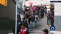 *Turkey Coup* Military officers conveyed to courthouse to face coup charges