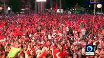 *Turkey Coup* Thousands greet PM Yildirim in Ankara after failed coup attempt