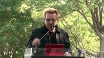 U2 Rock Star Bono evacuated on Bastille Day in Nice