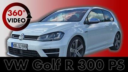 360 testdrive: VW Golf R 2016 300 PS AWD Country Roads