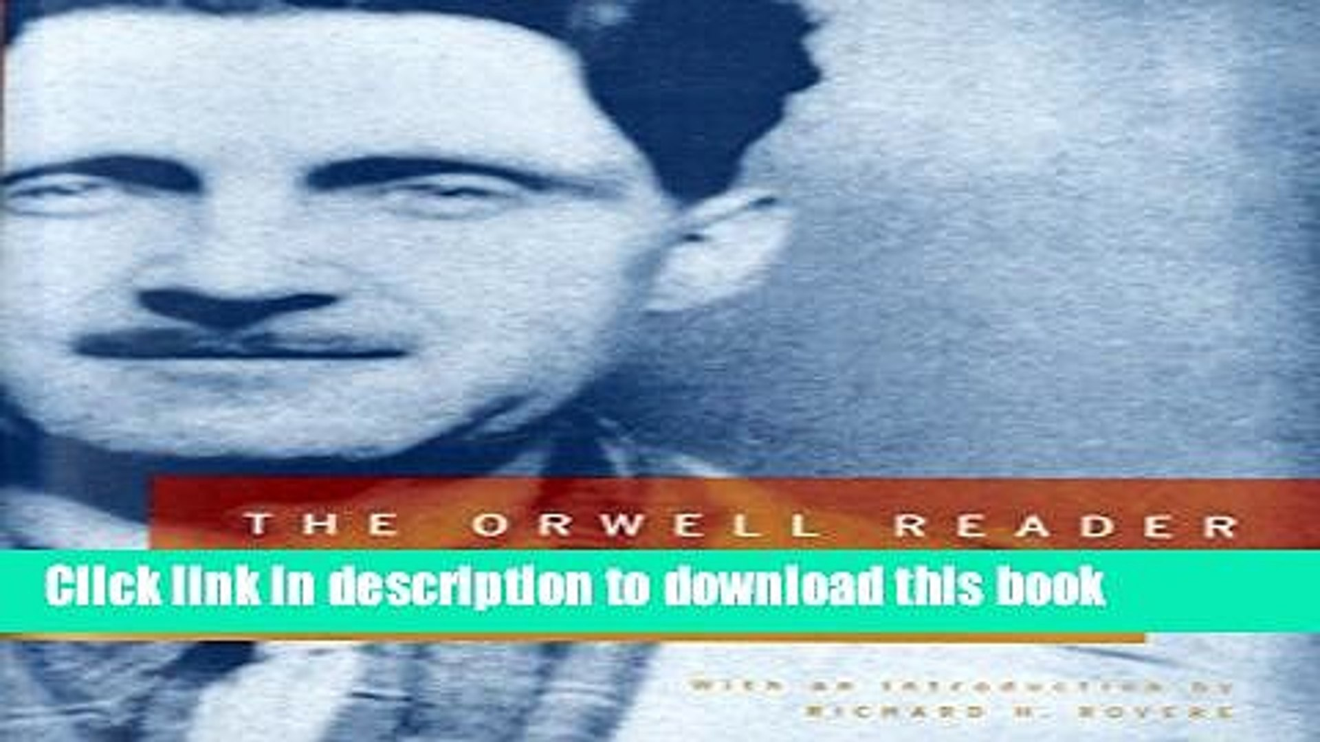 orwell reader fiction essays reportage