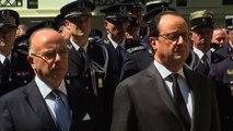 Nizza, Hollande a Parigi rende omaggio alle vittime dell'attacco