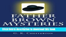 Download Father Brown Mysteries The Innocence of Father Brown [Large Print Edition]: The
