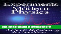 Read Books Laboratory Experiments in College Physics ebook textbooks