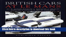 [PDF] British Cars at Le Mans: Ac, Aston Martin, Bentley, Healey, Jaguar, Lotus, Mg, Triumph (A