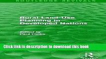 [PDF] Rural Land-Use Planning in Developed Nations (Routledge Revivals) [Download] Full Ebook