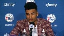 Ben Simmons & Timothe Luwawu Introductory Press Conference Philadelphia 76ers 2016 NBA Offseason