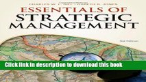 Read Essentials of Strategic Management (Available Titles CourseMate)  Ebook Free