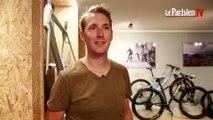 Andy Schleck présente son concept store dédié au cyclisme