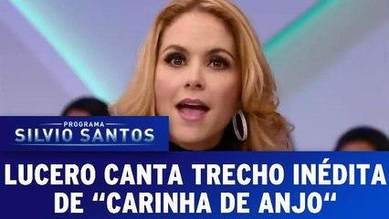 Lucero canta trecho inédito da novela `Carinha de Anjo`