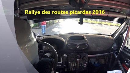 T2C_CHOUDEY-CHARIOT_camera_embarquée_ES1_rallye_routes_picardes_2016