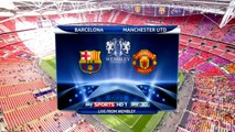 FC Barcelona vs Manchester United 3-1 Highlights champions league Final 2010/11