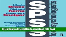 Download SPSS for Psychologists: Fifth Edition Ebook Free