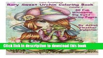 Read Lacy Sunshine s Rory Sweet Urchin Coloring Book Volume 2: Fun Whimsical Big Eyed Art (Lacy