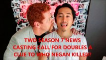The Walking Dead Season 7 Casting Call To Hide The Negan Victims Walking Dead Season 7 News
