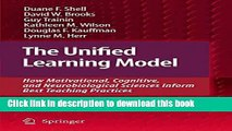 Read The Unified Learning Model: How Motivational, Cognitive, and Neurobiological Sciences Inform