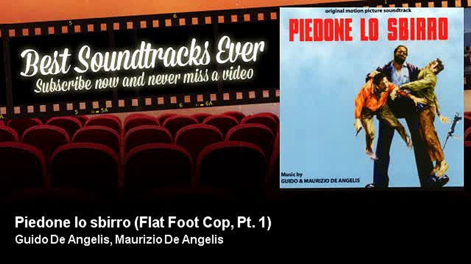 Guido De Angelis, Maurizio De Angelis - Piedone lo sbirro - Flat Foot Cop, Pt. 1