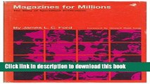 [PDF] Magazines for Millions: The Story of Specialized Publications (New Horizons in Journalism)
