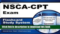 Read Book Flashcard Study System for the NSCA-CPT Exam: NSCA-CPT Test Practice Questions   Review