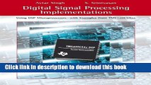 Read Digital Signal Processing Implementations: Using DSP Microprocessors (with examples from