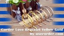 Gorgeous Cartier Love Bracelet Replica Low Price Yellow Gold