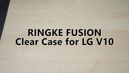 Ringke Fusion Clear Case for LG V10