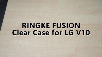Ringke Fusion Clear Case for LG V10