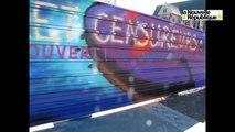 VIDEO. Tours : des tags contre les graffs rue Nationale