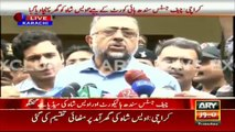 Chief Justice Sindh Talks to Media After His Son's Recovery - Praising Army Chief & Pak Army