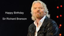 Happy Birthday Sir Richard Branson | Birthday Video Greeting