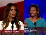 Quand Melania Trump copie mot pour mot un discours de Michelle Obama !