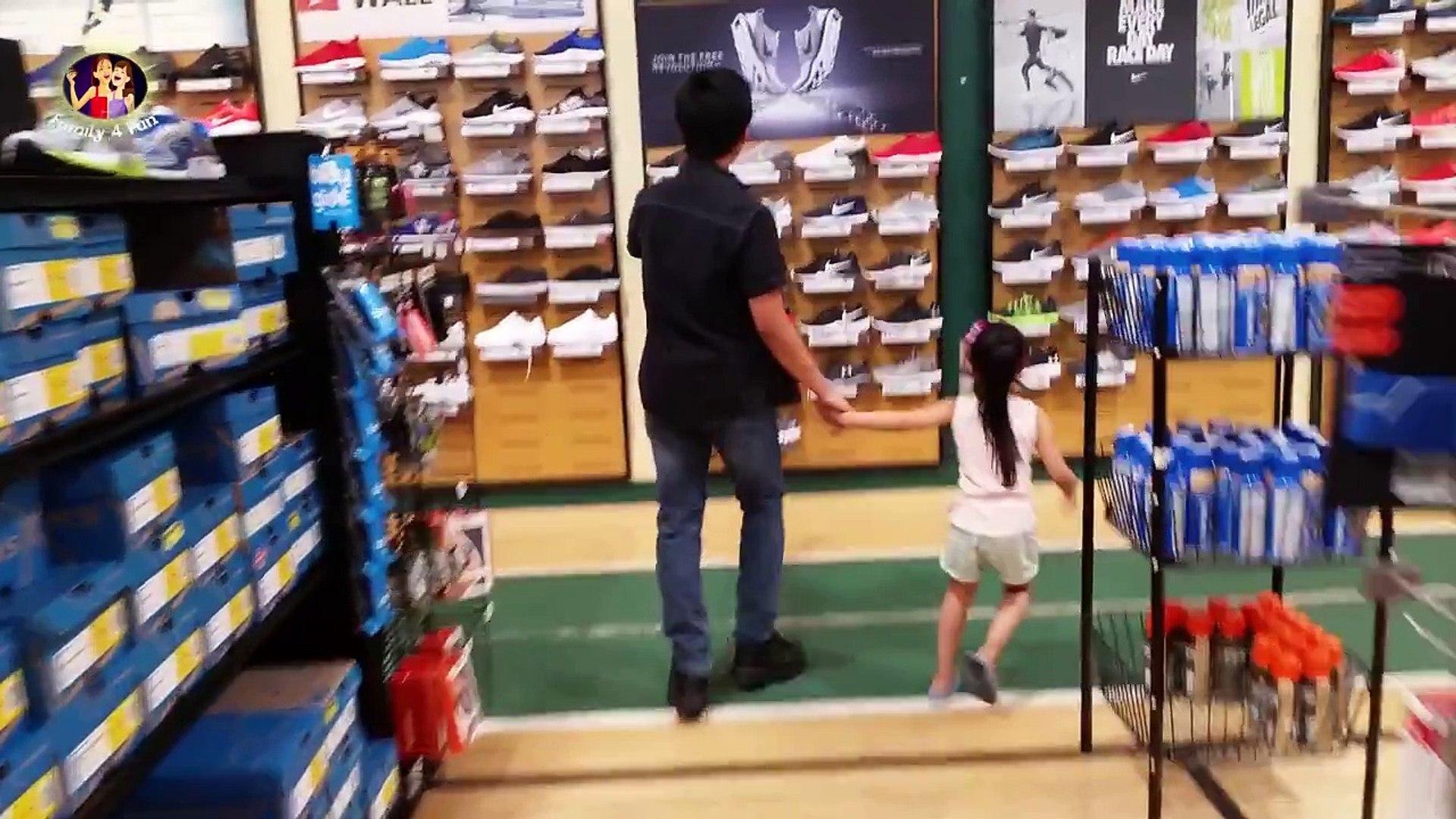 Nike Flyware Red Running Shoes Dicks's Sporting Goods Shoe Haul Family 4 Fun