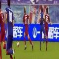 La blessure horrible de Demba Ba à la jambe pendant un match en Chine !!!